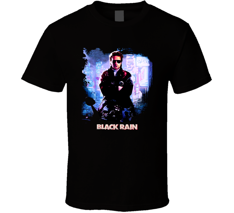 Black Rain Michael Douglas Movie Japan Fan T Shirt