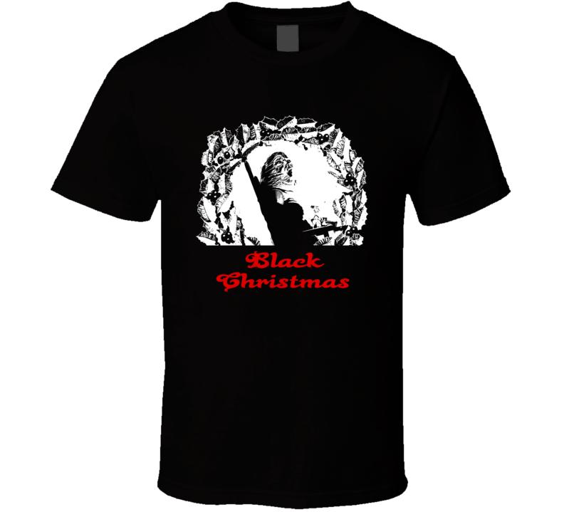 Black Christmas 1974 Horror Thriller Classic Movie Fan T Shirt