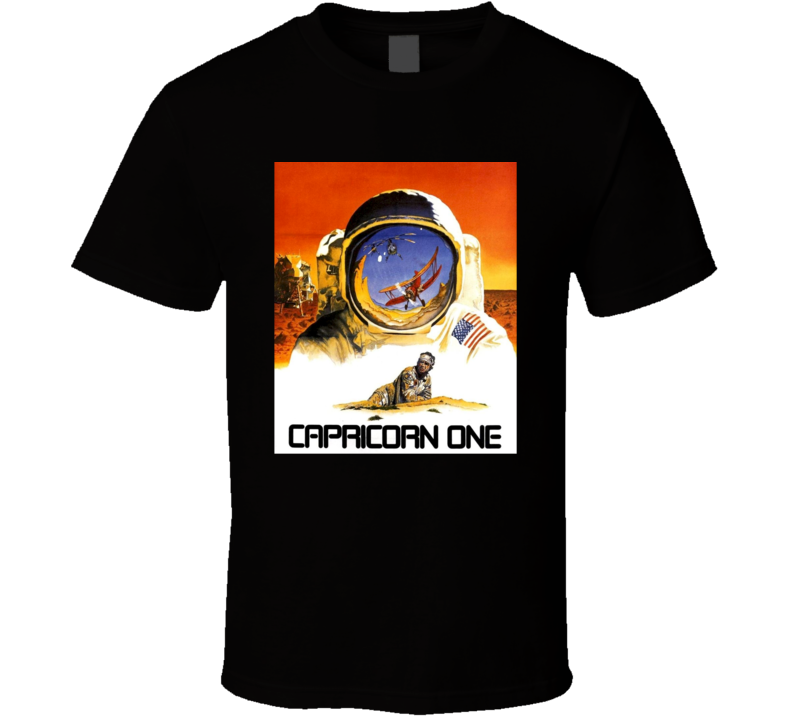 Capricorn One 1977 Mars Landing Classic 70s Movie Fan T Shirt