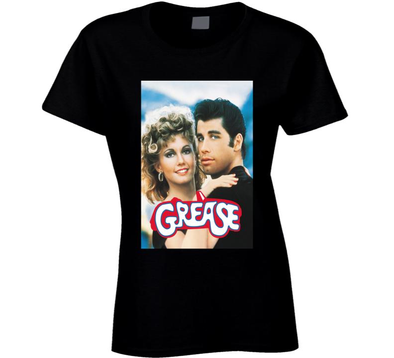 Grease 1978 Travolta Classic 70s Cult Classic Movie Fan T Shirt