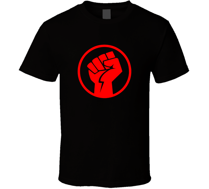 Rise Up Protest Fist Stand Political USA World T Shirt