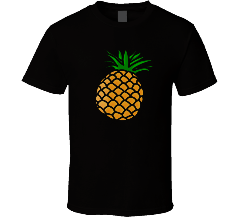 Pineapple Food Foodie Funny Vegetarian Vegan Parody T Shirt