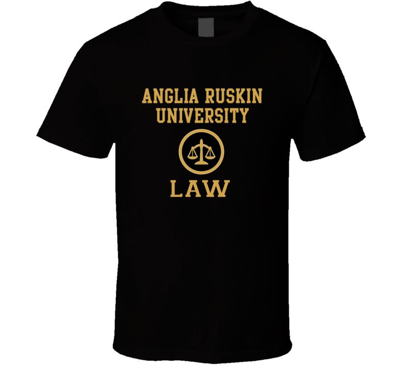 Anglia Ruskin University Law School Graduate T Shirt
