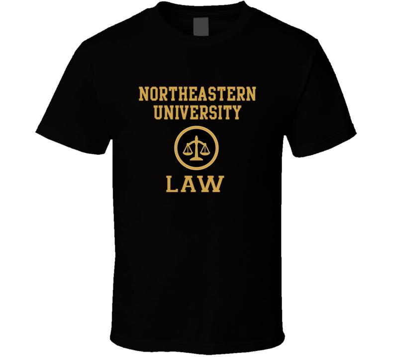 Northeastern University Law School Graduate T Shirt