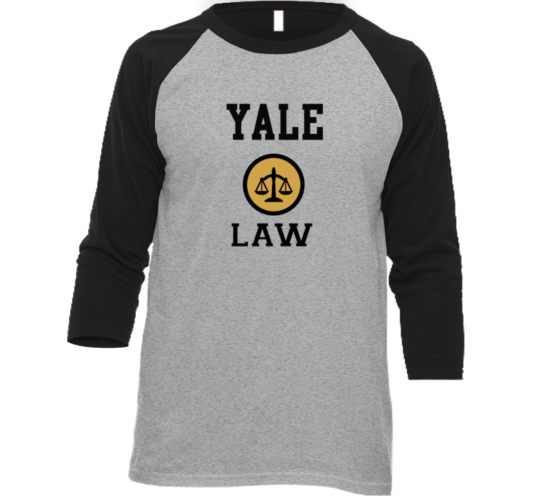 Yale Law School Graduate Raglan T Shirt