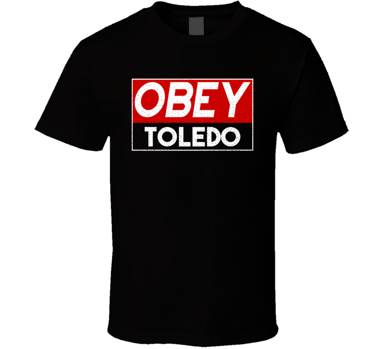 Obey Toledo Town City Proud Limited Edition T Shirt