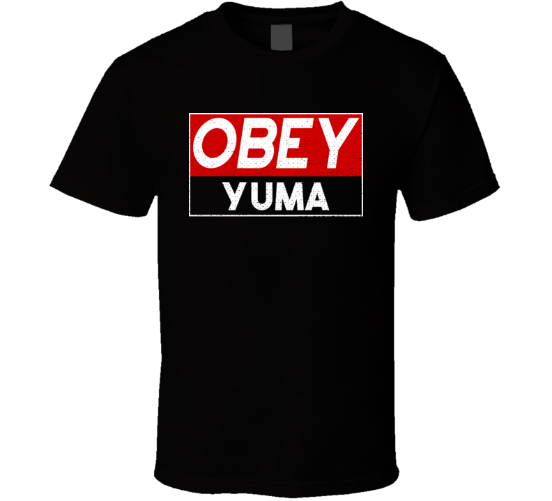 Obey Yuma Town City Proud Limited Edition T Shirt