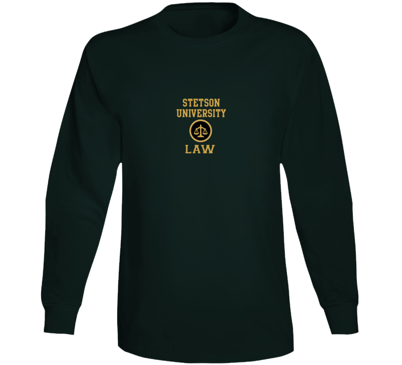 Stetson University Law  Cover Long Sleeve