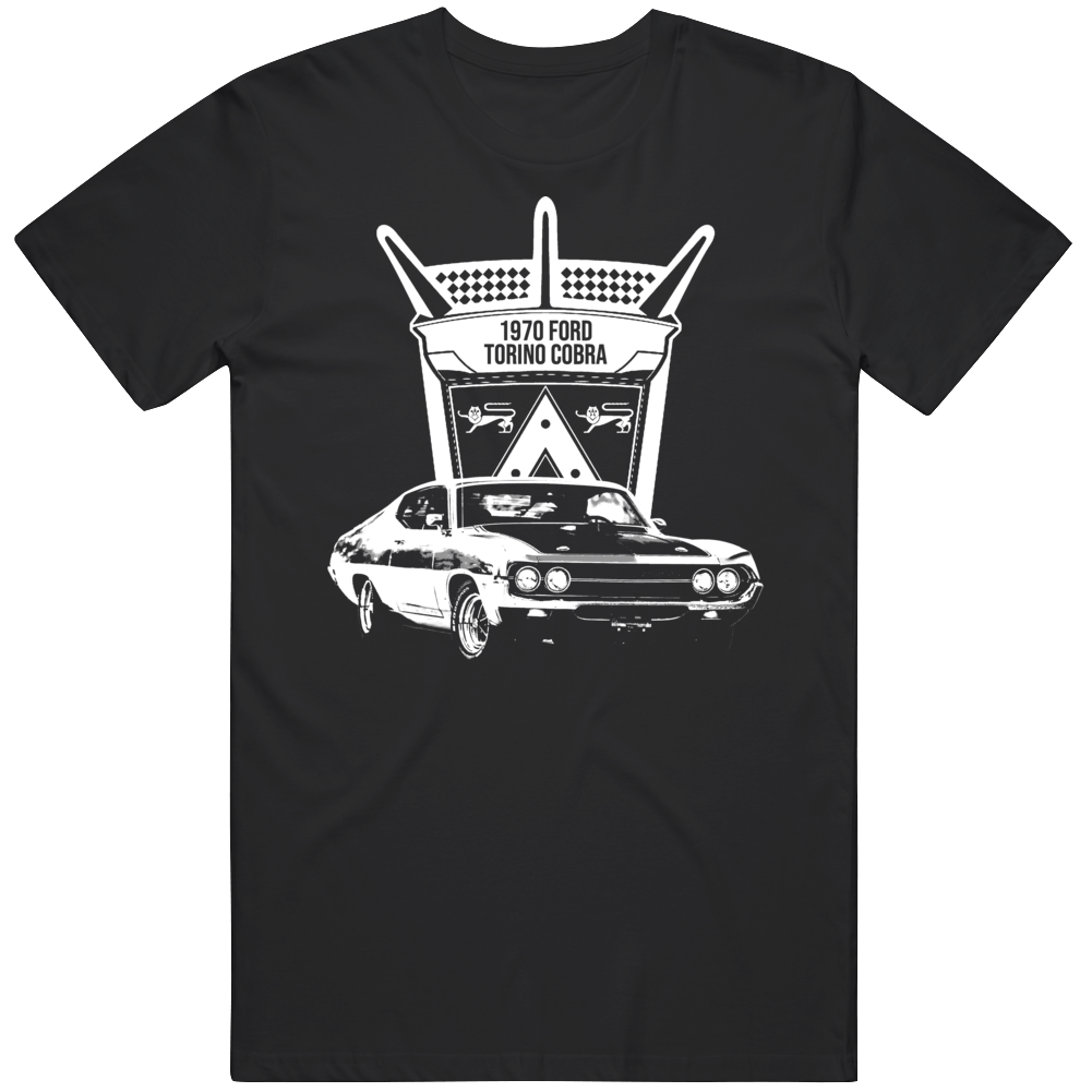 1970 Ford Torino Cobra Muscle Car Classic T Shirt