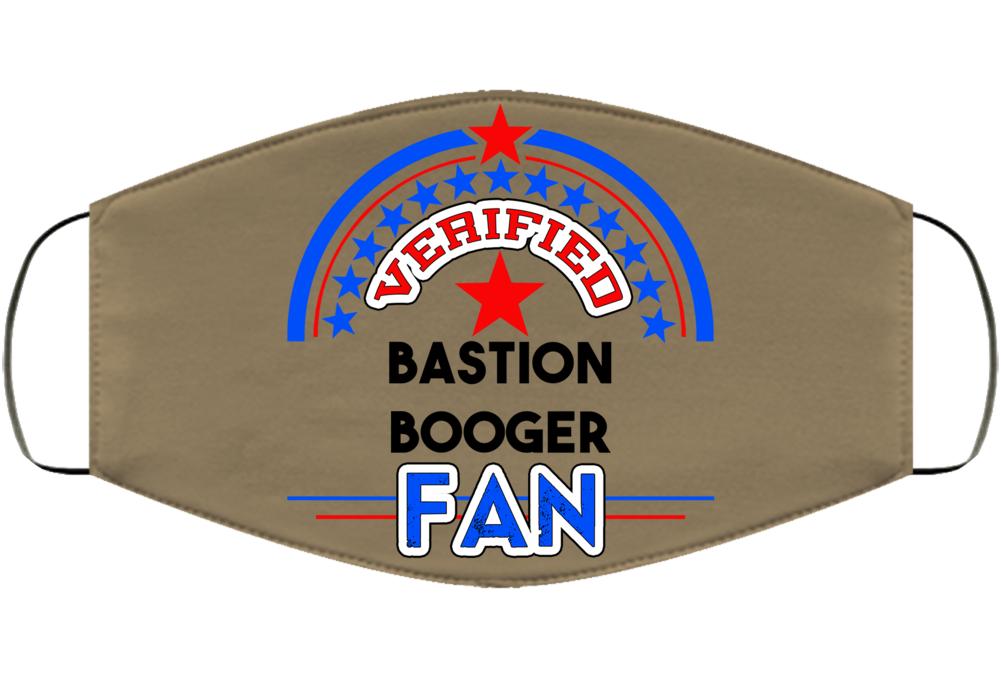 Verified Bastion Booger Fan Wrestler Retro Face Mask Cover
