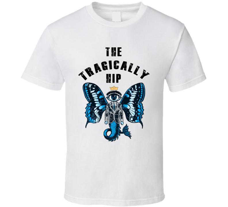 Rock Band Canadian T Shirt