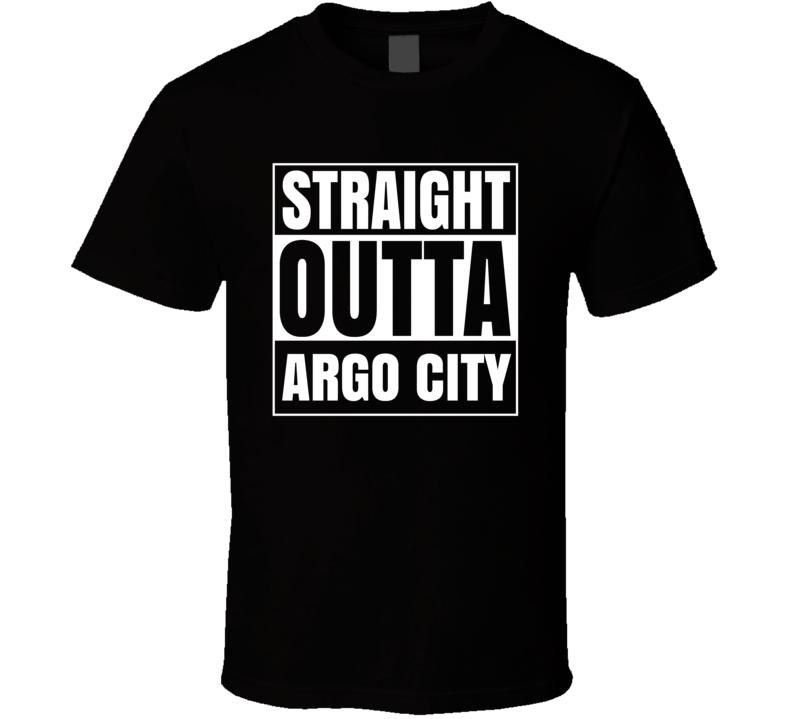Straight Outta Argo City Comic Book City T Shirt