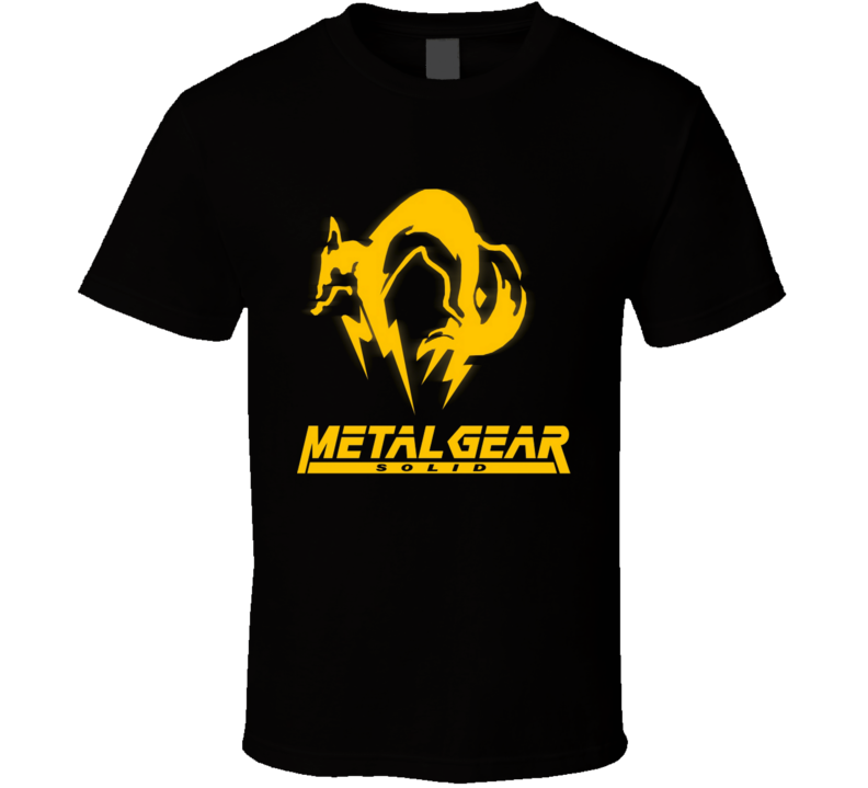 The Metal Gear Special force foxhound fox hound video games T Shirt