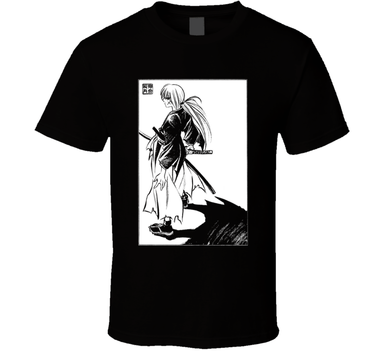 meiji era battosai himura ruroini kenshin samurai x with sakabato T Shirt