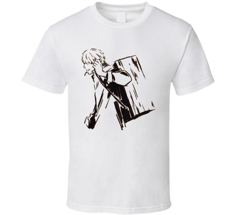 Ginko Wondering Mushi master Mushishi manga anime T Shirt