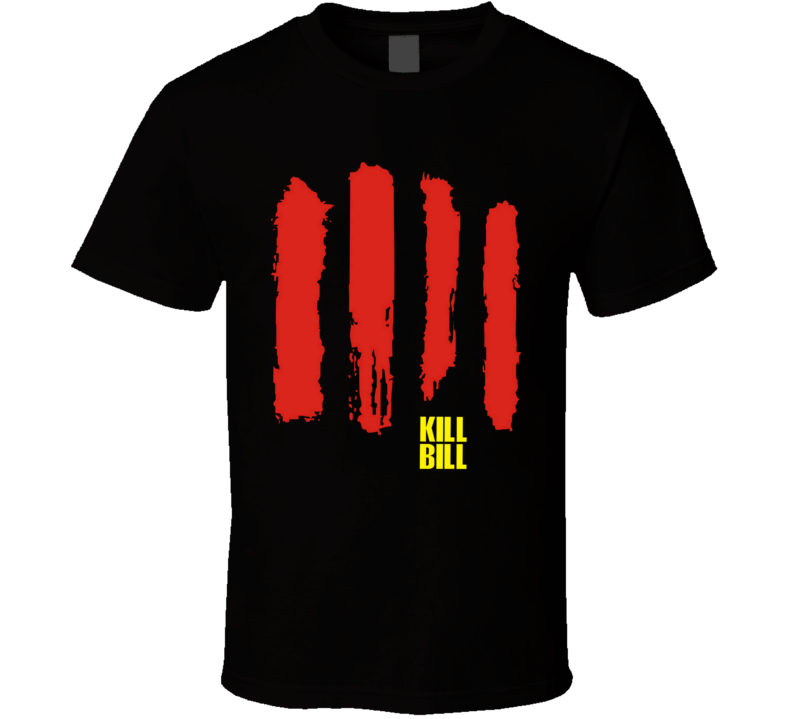Kill Bill Movies blood Sword T Shirt