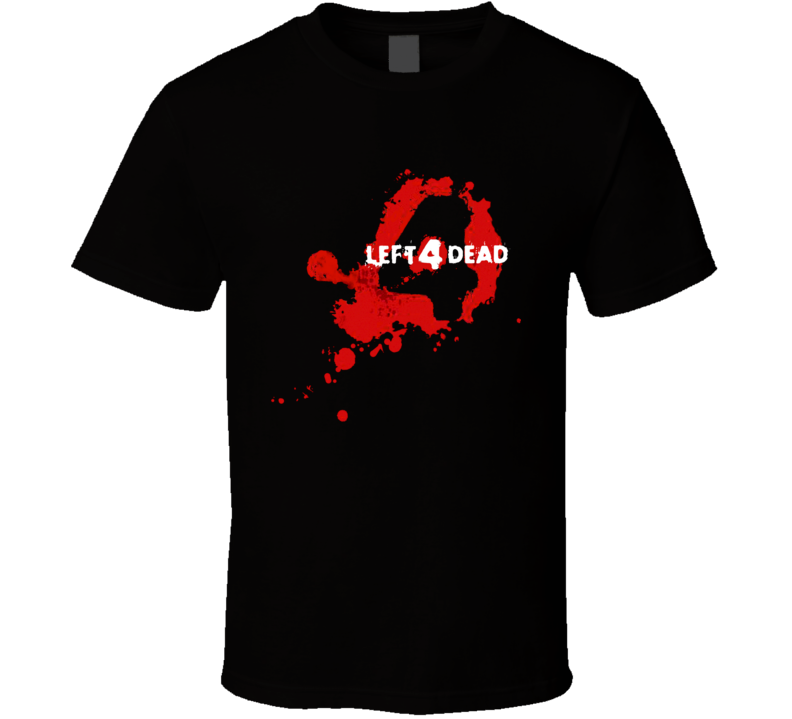 Left for 4 Dead Shooter Video game Zombie T Shirt