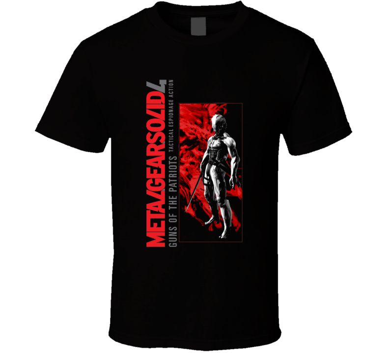 Metal Gear Solid 4 T Shirt