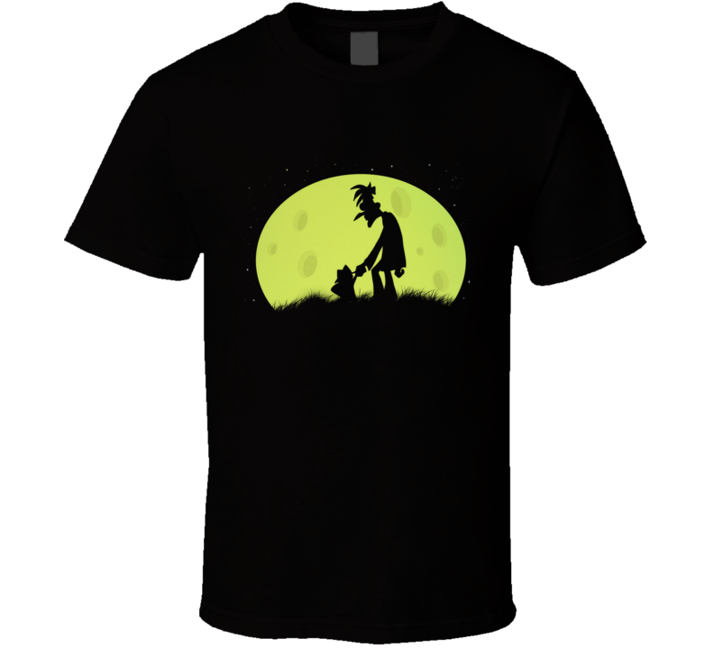 Moon Over Doof phineas and ferb Black T-Shirt