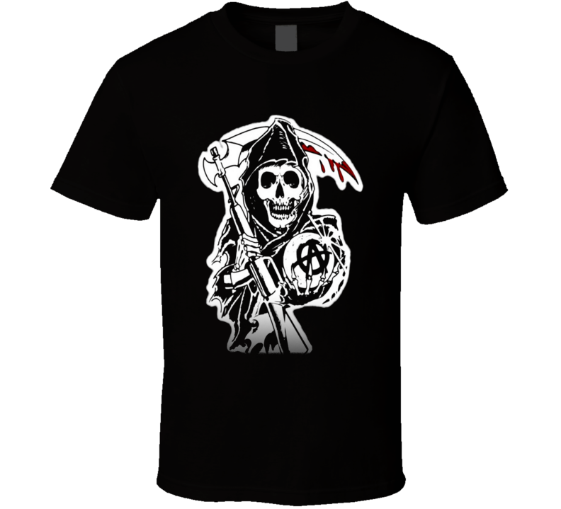Sons of Anarchy the reaper guillotine T Shirt