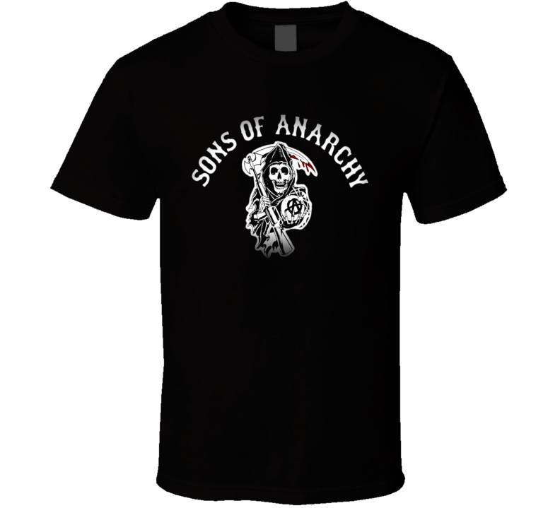 Sons of Anarchy the reaper guillotine logo T Shirt