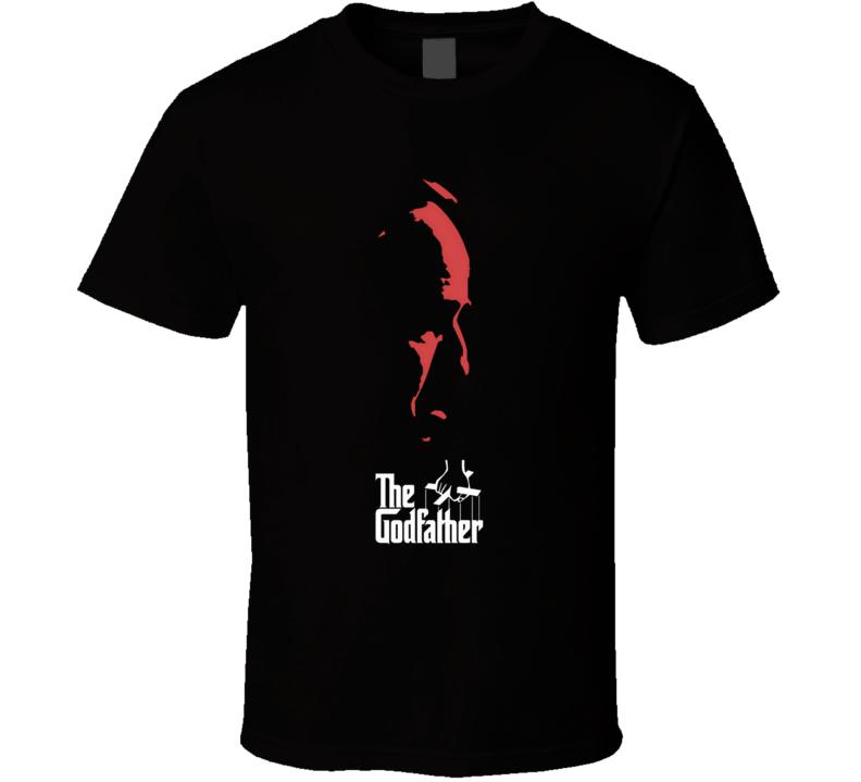vito Don Corleone the God Father Movie triogy Mario Puzo and Coppola Marlon Brando T Shirt