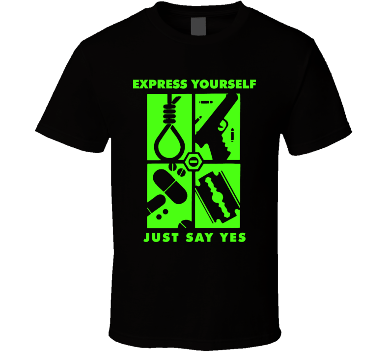 Type O Negative Express Yourself Just say Yes T Shirt