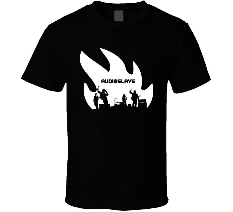 Audioslave Rock Band T Shirt