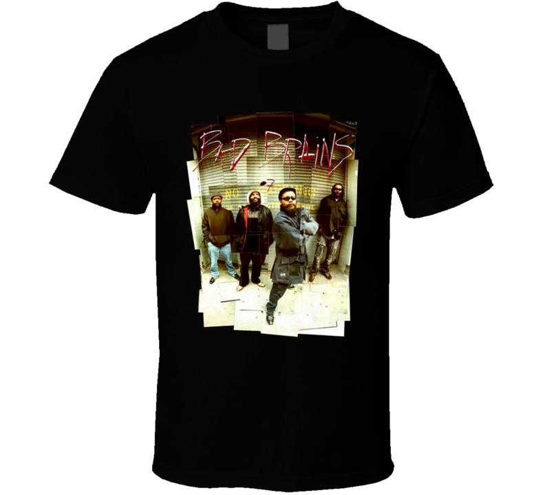 Bad Brains rock band members T Shirt