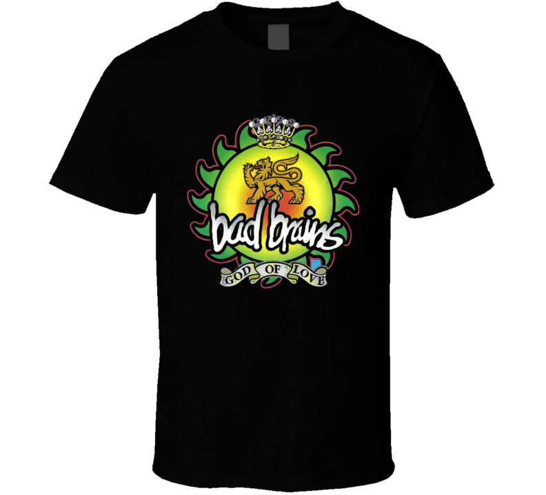 Bad Brains rock band God Of Love T Shirt
