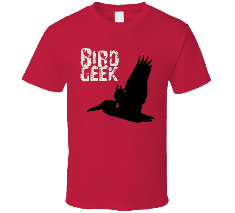 The flying geek bird T Shirt