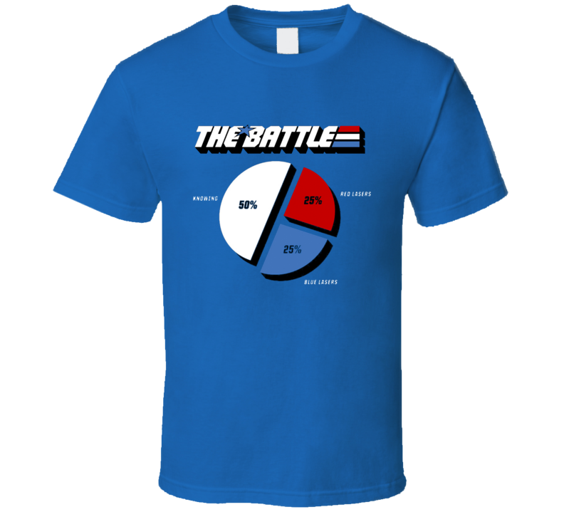 GI Joe- If Knowing is Half The Battle, what is the other half ? T Shirt