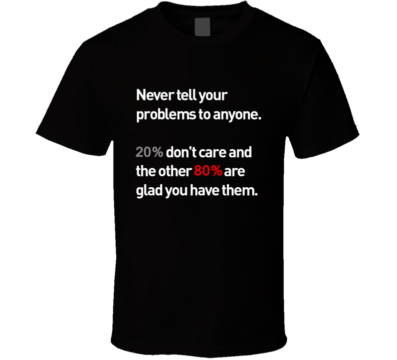 never tell your problems T Shirt