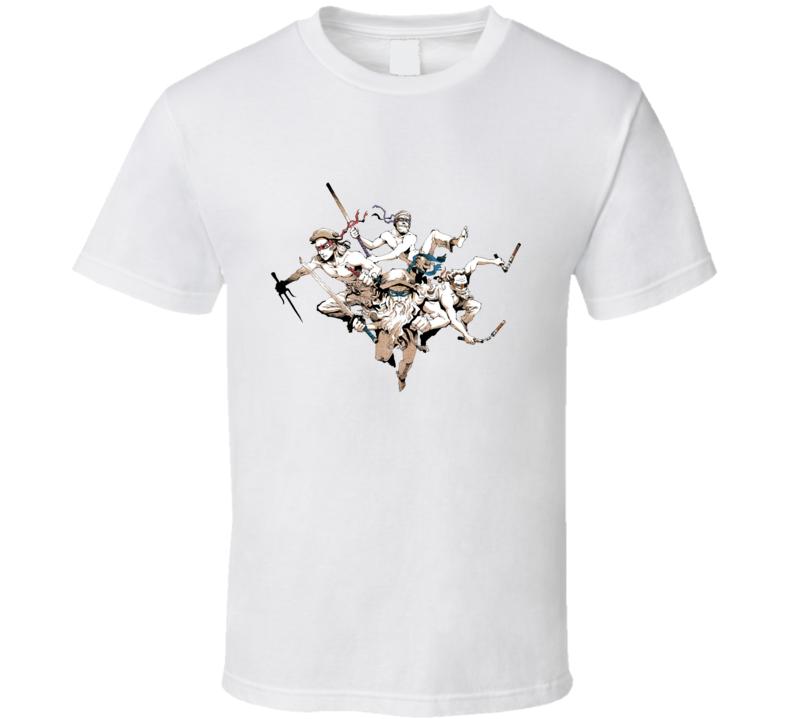 Leonardo, Raphael, Michelangelo, and Donatello T Shirt