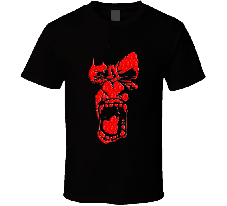 The angry ape, monkey wild animals T Shirt