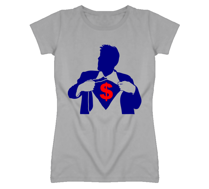 Super buck $ - men with suit  T Shirt