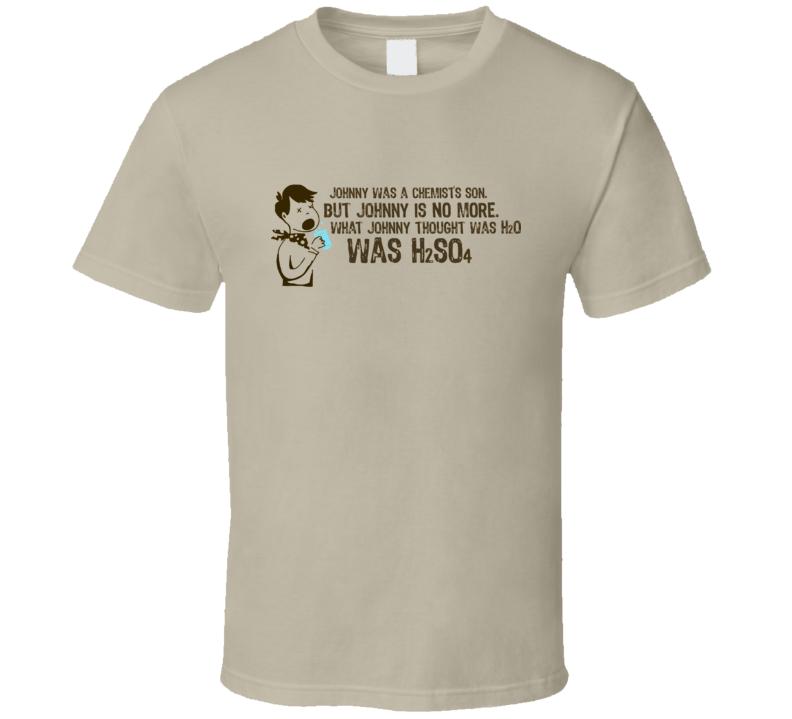 H2SO4 T Shirt