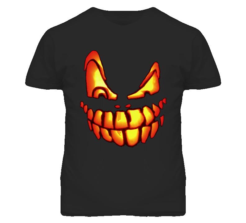 Hallowen Pumpkin smiley T Shirt