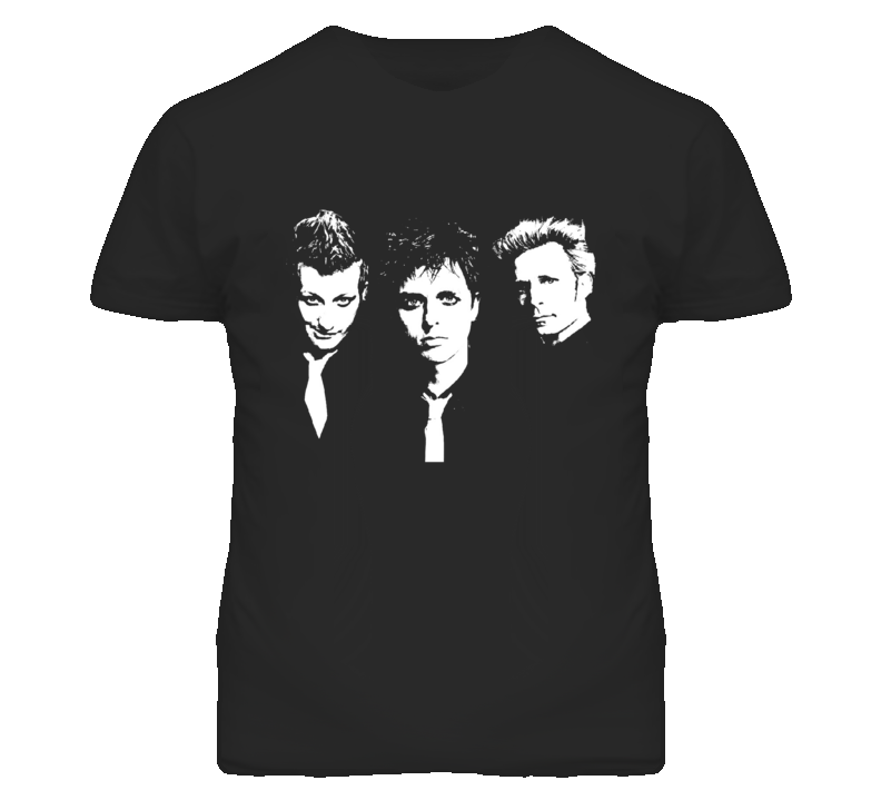 Greenday rock band member T Shirt