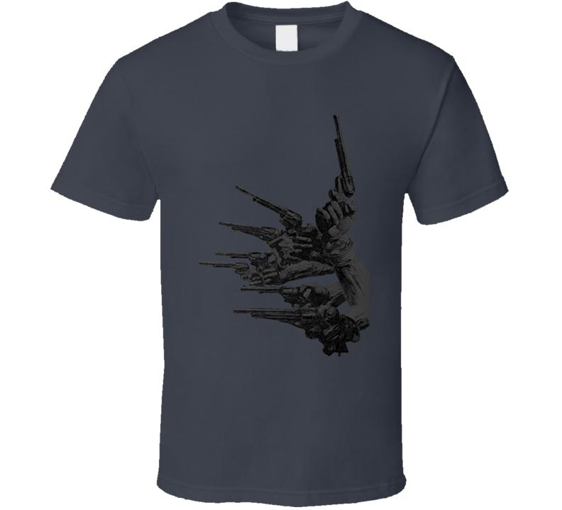 guns of the magnificent seven T Shirt