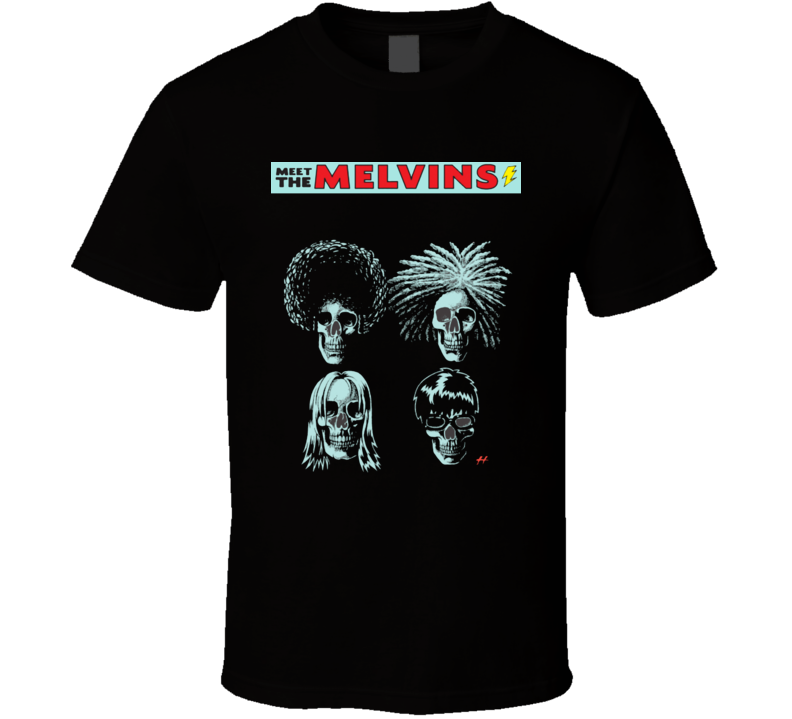 meet The Melvins american rock band t-shirt