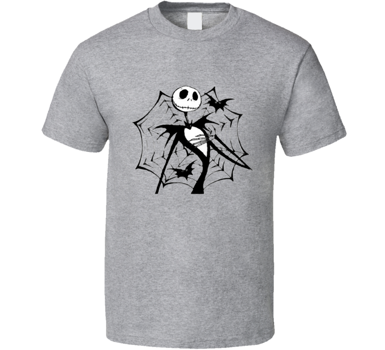 skeleton and the web T Shirt
