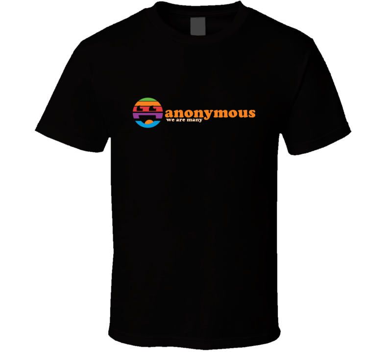 Anonymous -  we are many T Shirt