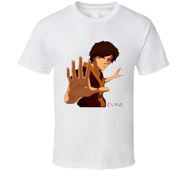 Fire nation Banished prince Zuko avatar The Last Airbender legend of Aang T Shirt