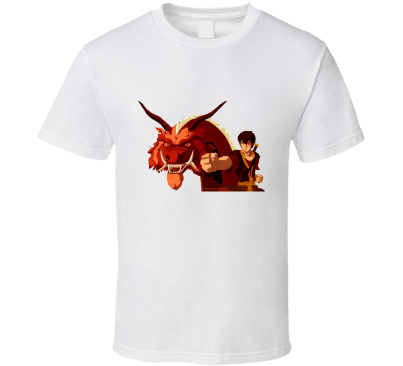 avatar legend of Aang the last airbender Zuko The dancing dragon Fire nation Banished prince T Shirt
