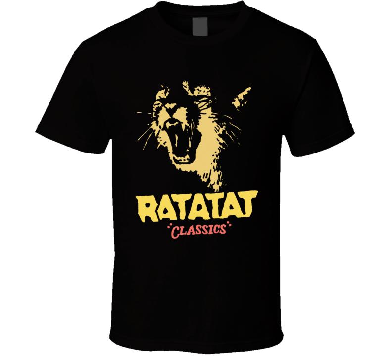 Ratatat Classics T Shirt
