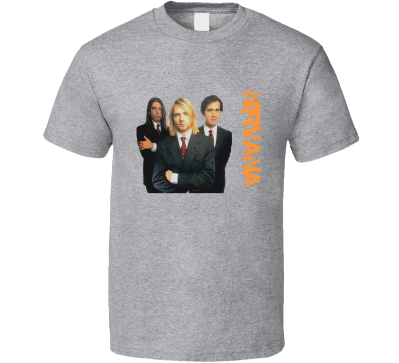 Band nirvana kurt cobain krist novoselic dave grohl T Shirt