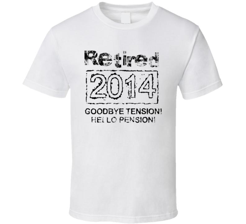 Retired 2014 T Shirt