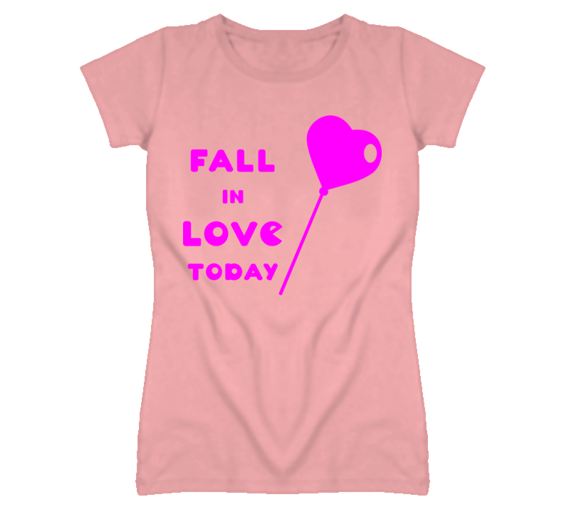 Fall in love today heart balloon T Shirt