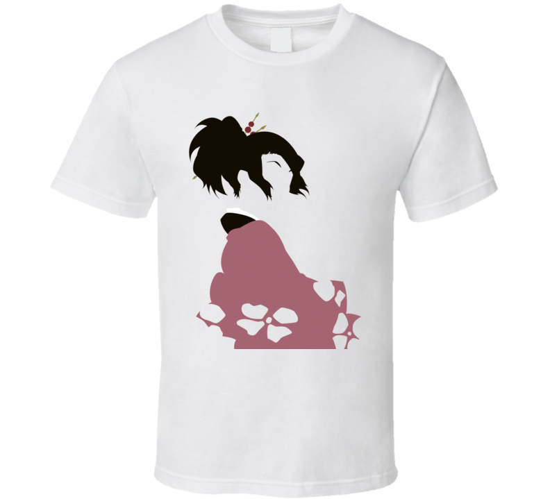 the leading lady of Samurai Champloo Fuu Sunflower Samurai anime manga T Shirt